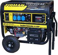 Генератор бензиновый FIRMAN FPG 7800E2 (5.0 кВт, 15 л.с., бензин, 1 фаза, стартер)