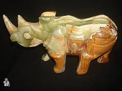 Носорог из оникса (24х9 см.)
