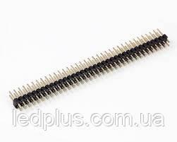 Разьем PLD-2x40 шаг 2,54мм