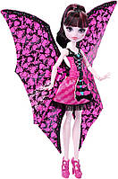 Кукла Monster high ghoul-to-bat transformation draculaura