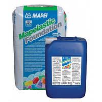 """Эластичная гидроизоляция подвалов """"Mapelastic Foundation"""" Mapei"""