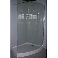 Душевой уголок (передняя стенка+ поддон) 120*85*200 см EGER ILUSIO`N (599-657)