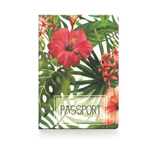 """Обложка для паспорта """"Тропики """""""