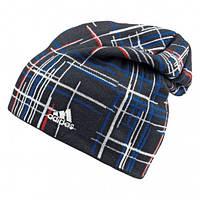 Шапка спортивная, мужская adidas CHECK BEANIE G70559 адидас