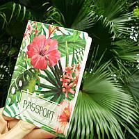 """Обложка для паспорта """"Тропики"""", фото 1"""