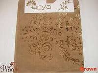 Набор ковриков для ванной 60х100, 60х50 хлопок Arya Luxor коричневый