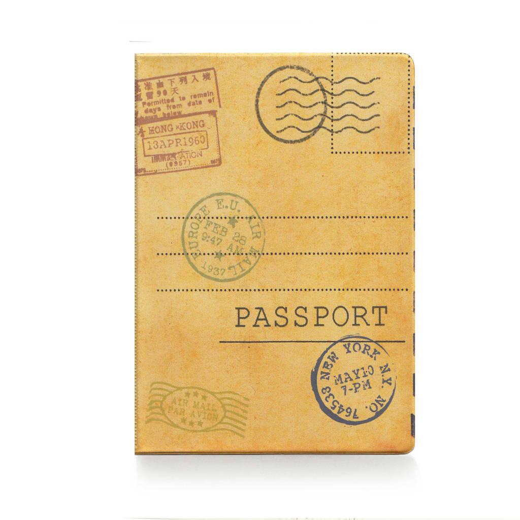 """Обложка для паспорта """"Открытка"""""""