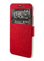 Чехол книжка для Lenovo A5000 Covers Ulike красный