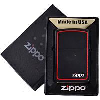 Зажигалка бензиновая Zippo в подарочной упаковке 4732-7 SO