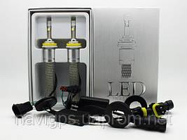 LED лампы 2шт. H1, H3, H7, H8, H9...