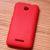 Чехол Nillkin Matte для Lenovo A390 (+ пленка) красный
