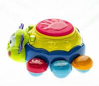 Развивающая обучающая музыкальная красочная игрушка Жучок