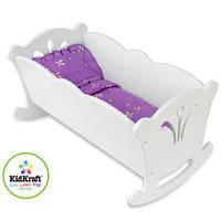 Кроватка для кукол KidKraft 60101  Doll Cradle