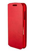 Чехол книжка для Lenovo A390 PA красный