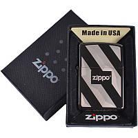 Зажигалка бензиновая Zippo в подарочной упаковке 4733-1 SO