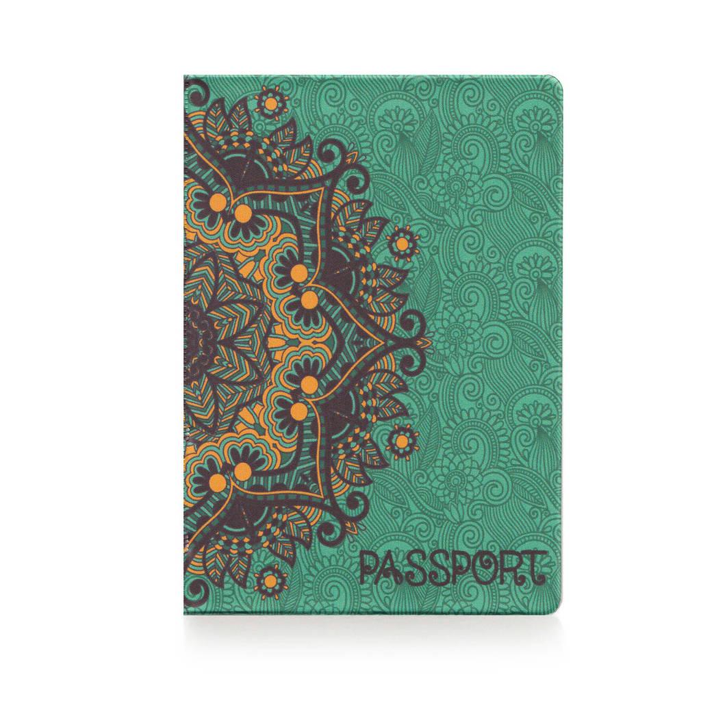 """Обложка для паспорта """"Золотые узоры"""""""