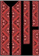 Заготовка чоловічої вишиванки під бісер (СЧд-010) Барвиста вишиванка bf8c5f0277b1a