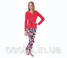 Пижама женская с брюками хлопок Nicoletta 86729