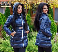 Женская зимняя куртка, плащевка на холлофайбере. Размер  46-48, 50-52, 54-56