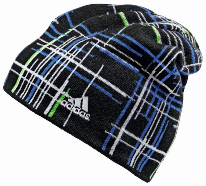 Шапка спортивная, мужская adidas CHECK BEANIE G70558 адидас