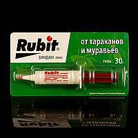 Гель-шприц, средство от тараканов и муравьев, Рубит Зиндан,  30г