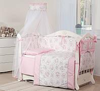 Детская постель Twins Dolce D-006 Мишки розовый