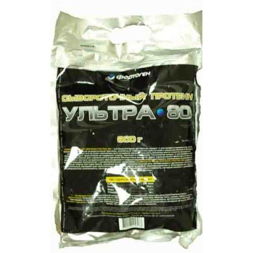 Фортоген Ультра 80% Сывороточный протеин 1кг