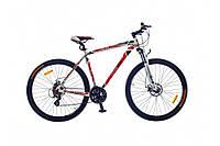 Велосипед Optima BIGFOOT AM DD рама-21 Al бело-красный 2015