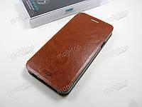 Кожаный чехол MOFI Samsung A510F Galaxy A5 2016 (коричневый), фото 1