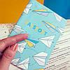 """Обложка для паспорта """"Бумажные самолетики"""", фото 3"""