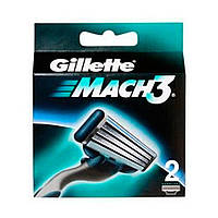 Сменные кассеты для бритья Gillette Mach 3 (2 шт.)