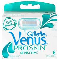 Сменные кассеты для бритья Gillette Venus Pro Skin 5лезвий (6 шт.)