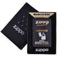 Зажигалка бензиновая Zippo в подарочной упаковке 4738-2 SO