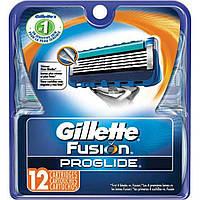 Сменные кассеты для бритья Gillette Fusion Proglide (12шт.) KG1710712