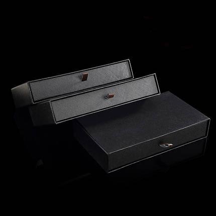 Выдвижная подарочная коробка под клатч. портмоне, фото 2