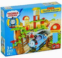 Конструктор железнодорожная станция паровозик Томас 8902