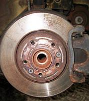 Тормозной диск задний для Mercedes Sprinter 906 Мерседес Спринтер