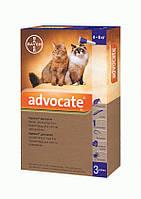 Капли Bayer Advocate (Адвокат) комплексные от паразитов для кошек свыше 4 кг, фото 1