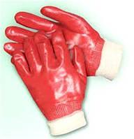 Перчатки с ПВХ покрытием, вязаный манжет MASTER TOOL