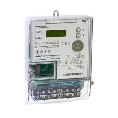 Электросчетчик MTX 3G20.DD.3M1-OGF4 трехфазный многотарифный