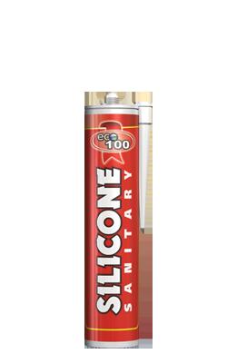 """Герметик силиконовый санитарный """"Eco100"""" белый"""
