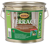 Масло атмосферостойкое AURA TERRACE для древесины