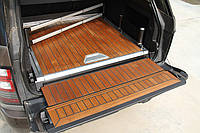 Деревянный пол в багажник Range Rover Vogue 2013