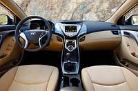 Штатная магнитола для Hyundai Elantra 2011+ Windows