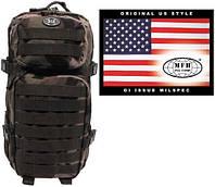"""Рюкзак 30л американского (США) типа MFH """"Assault I"""" CCE-камуфляж 30333I"""
