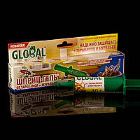 Шприц-гель Глобал 40 г от тараканов и муравьев