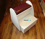 Підставка для педикюру 4в1+пуф майстра, фото 2