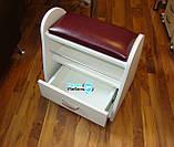 Підставка для педикюру 4в1+пуф майстра, фото 3