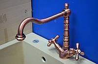 Смеситель для кухни Emmevi Deco Art.-12617 (медь)