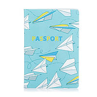 """Обложка для паспорта """"Бумажные самолетики"""", фото 1"""
